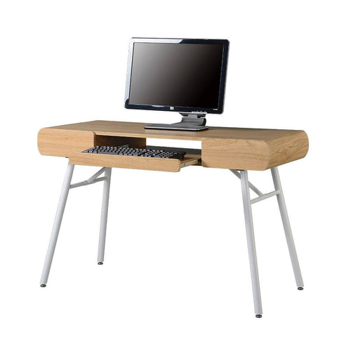 Techni Mobili Semi-Assembled Contemporary Computer Desk