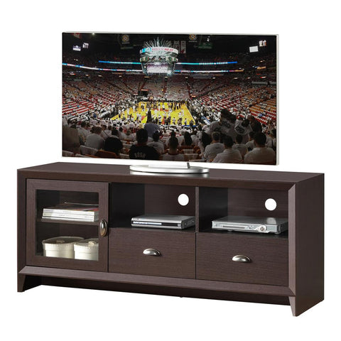 "Techni Mobili Contemporary Wengue 65"" TV Stand"