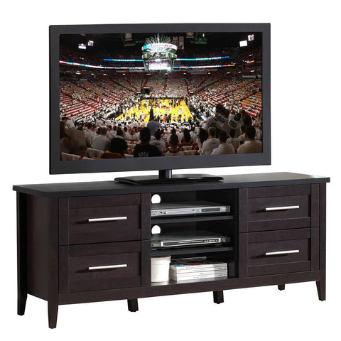 ELEGANT TV STAND WITH STORAGE FOR TVS UP TO 70""
