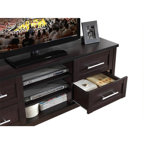 Techni Mobili Elegant TV Stand with Storage For TVs Up To 70""