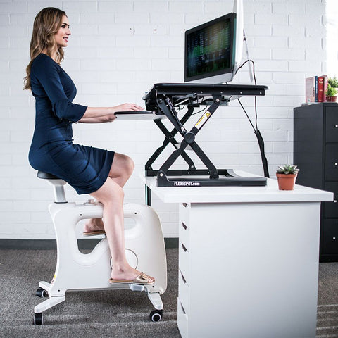 Flexispot: Home Office Standing Desk Mate--Under Desk Bikes