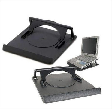 UNCAGED ERGONOMICS: Swivel Laptop Stand