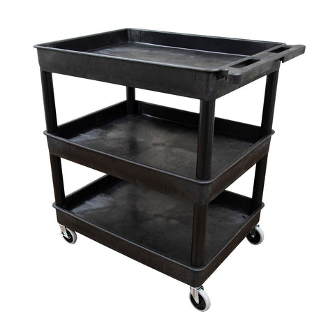 Large Tub Cart - Three Shelves