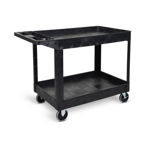 Two-Shelf Heavy-Duty Utility Cart
