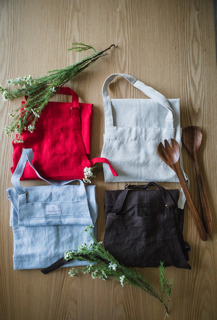 Irish Linen Aprons