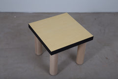 VENEER 0002 - Green stained side table