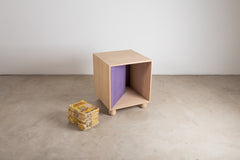 VENEER 0003 - Hidden Storage Side Table