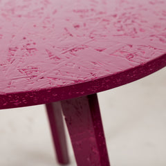 Hi Gloss lacquered side table