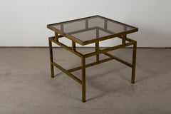 VINTAGE 0008 -  Brass side table