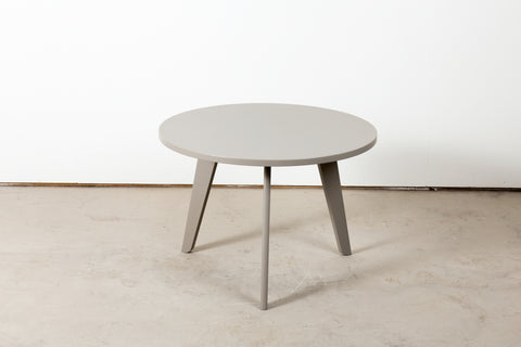 Grey lacquered table