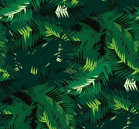 WALLPAPER - TUNKUN PALM VERDUROUS GREEN