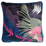 TUNKUN PALM CUSHION - TROPICAL PURPLE 60x60