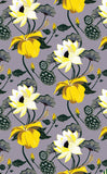 Cotton Tea Towels - Lobiscus Furvor Purple