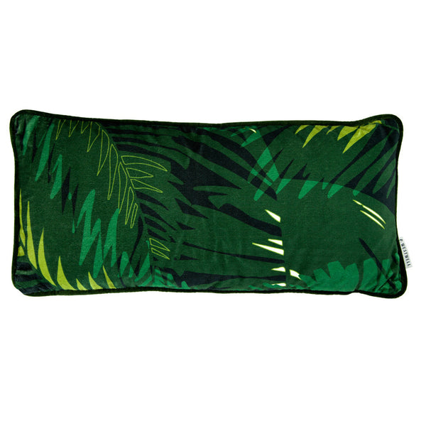 TUNKUN PALM CUSHION - VERDUROUS GREEN 30x60