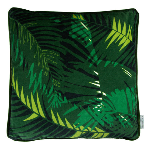 TUNKUN PALM CUSHION - VERDUROUS GREEN 60x60