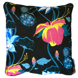LOBISCUS LAKE BLACK VELVET CUSHION 60x60