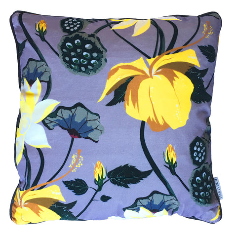 LOBISCUS FERVOR PURPLE VELVET CUSHION 60x60