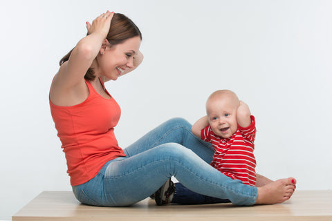 Baby entertainment: action songs help motor skills development