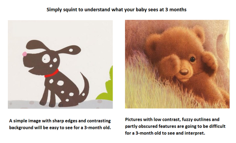 how images are perceived by babies