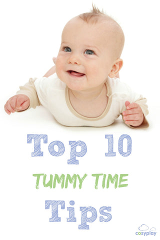Top 10 Tummy Time Tips