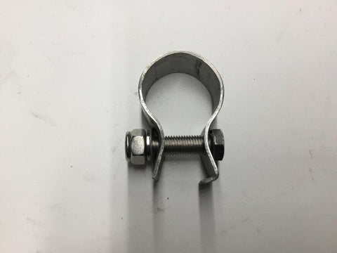 CLAMP, SS FOR POST MOUNT TUBE