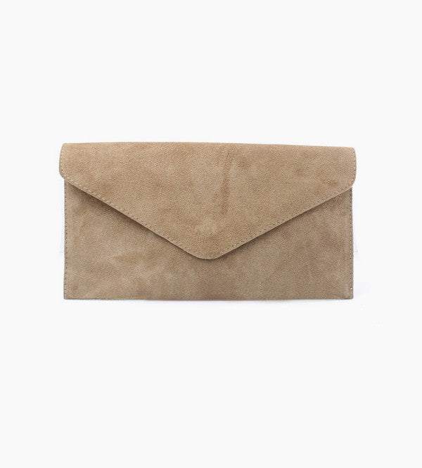 Suede Envelope