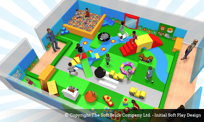 Soft Play Structure Design