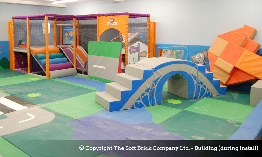 Soft Brick & Under 1 Roof soft play structure
