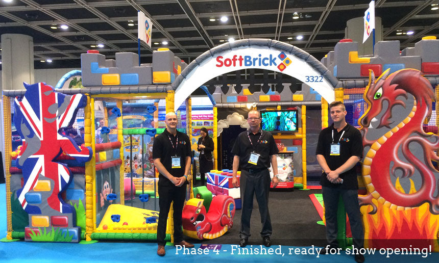 Soft Brick Phase 4 IAAPA Hong Kong