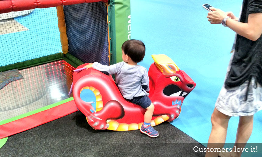 IAAPA Hong Kong Soft Play Rocker