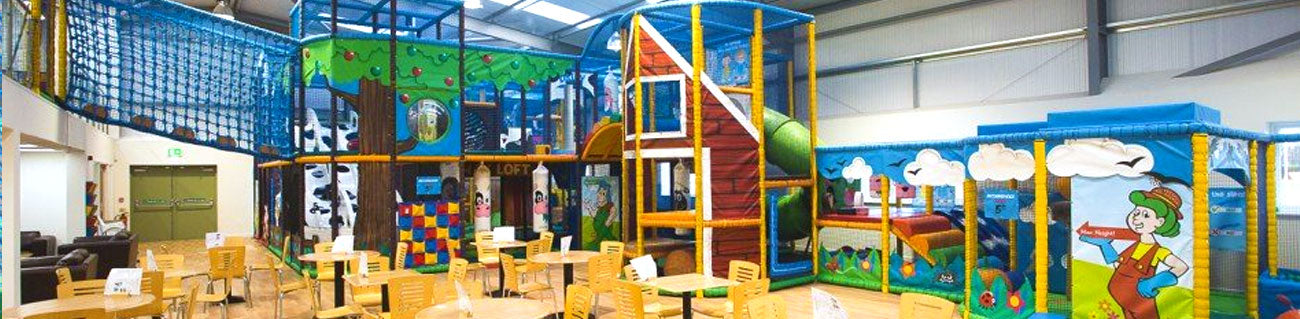 Bury Lane Farm Indoor Play by Soft Brick
