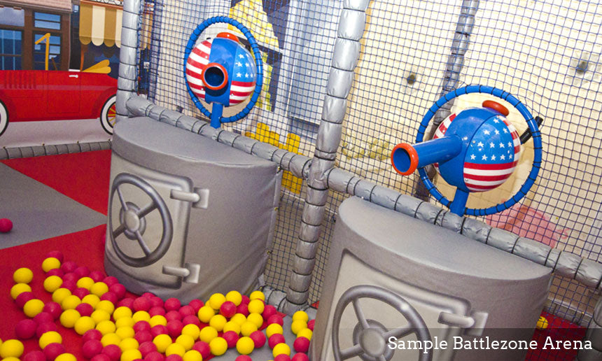 Ball Shooter Soft Play Structures 2
