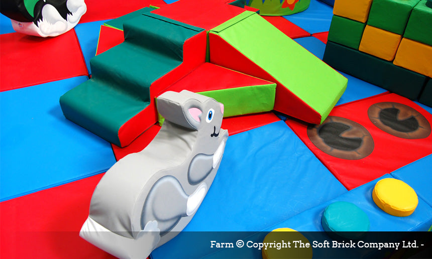 Farm Soft Play Packaway kit by Soft Brick