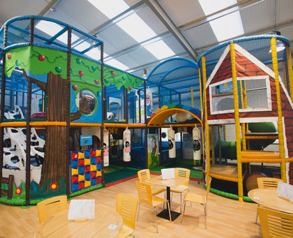 Bury Lane Farm - Indoor Play Area by Soft Brick