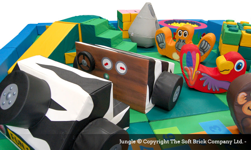 Jungle Play Packaway kit by Soft Brick