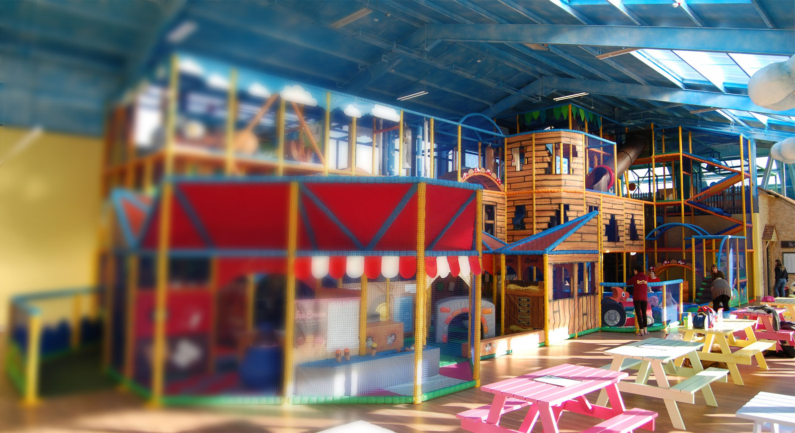 millets farm indoor soft play by the soft brick company