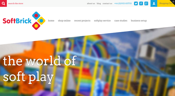 Soft Brick's new website! The UK's number 1 indoor play manufacturer now has a number 1 website too!