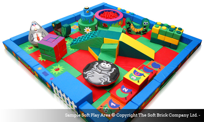 Soft Brick's soft play - packaway kits