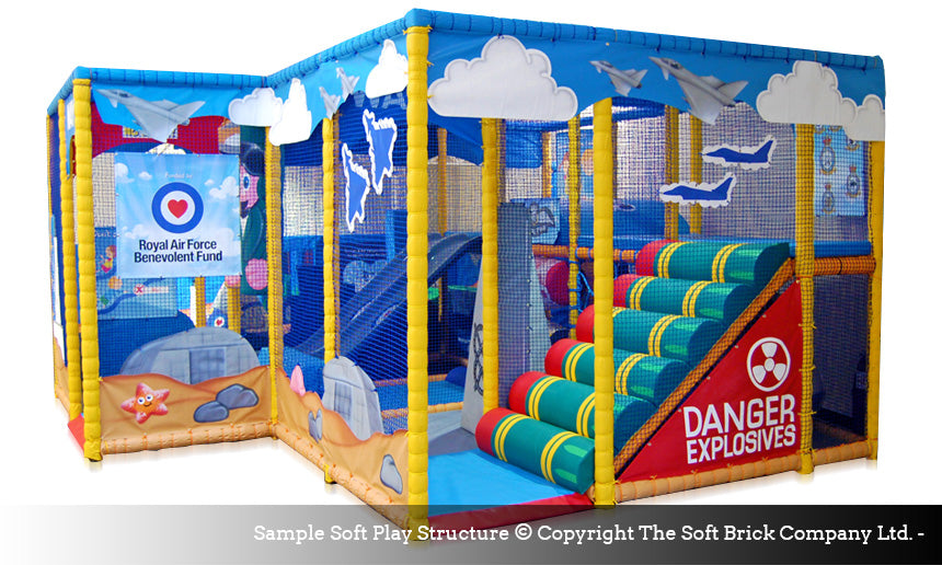 Soft Brick Soft Play Structure Design