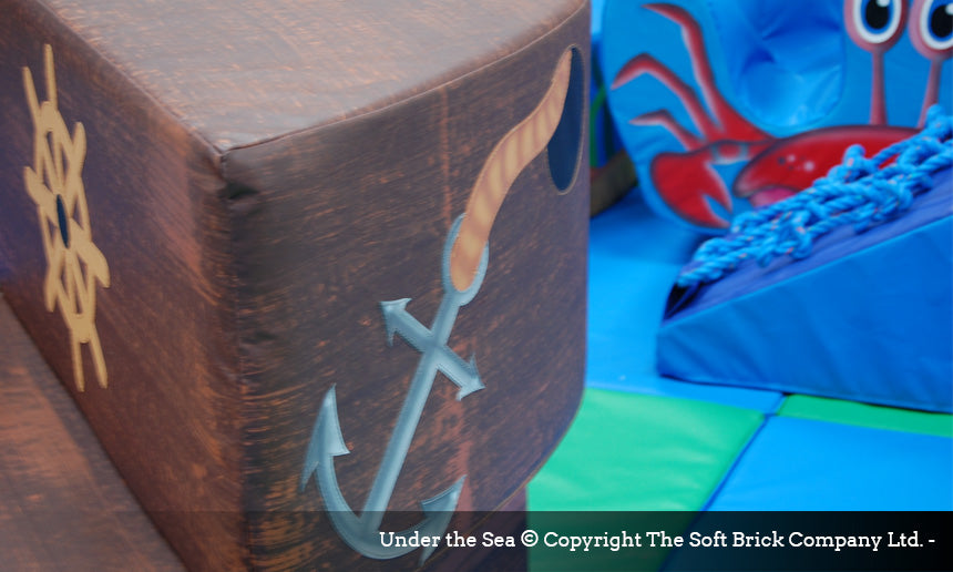 Under the Sea Soft Play Packaway kit by Soft Brick