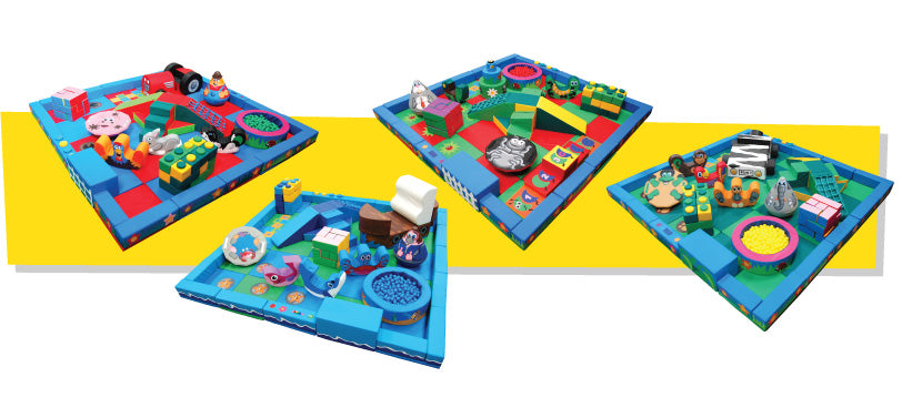Soft Play Packaway kits by Soft Brick