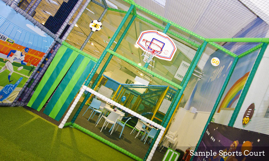 Basketball Hoop Soft Play Structures