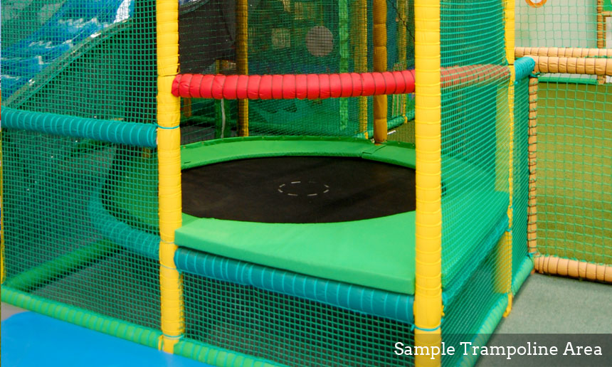 Soft Play Structure Trampoline