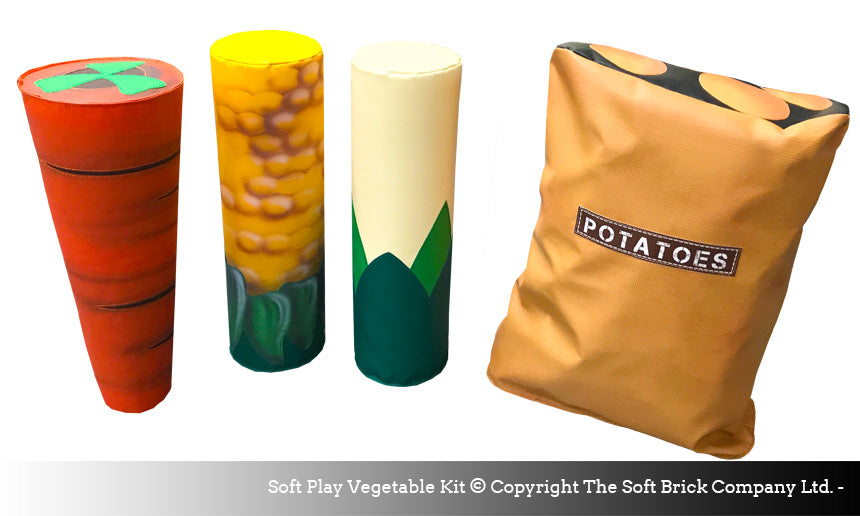 soft play veg kit by soft brick