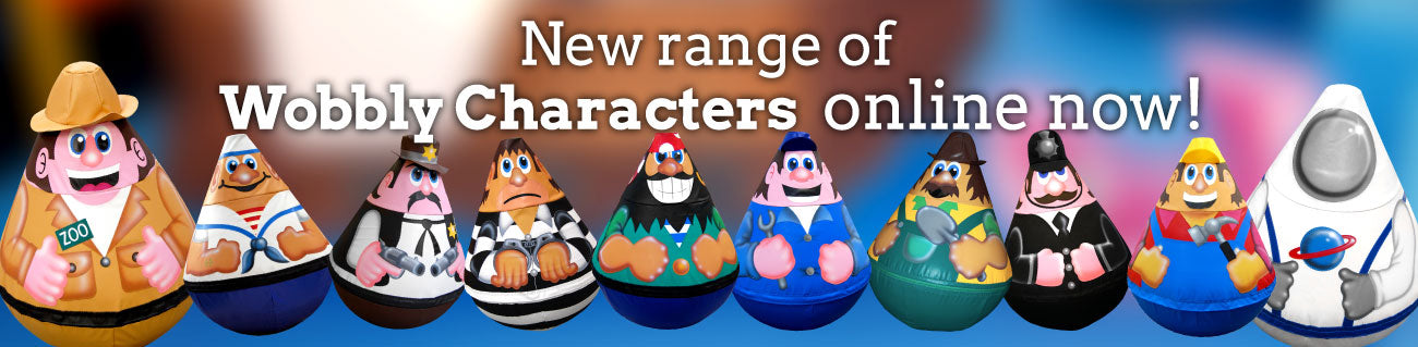 New Soft Brick Wobbly Characters
