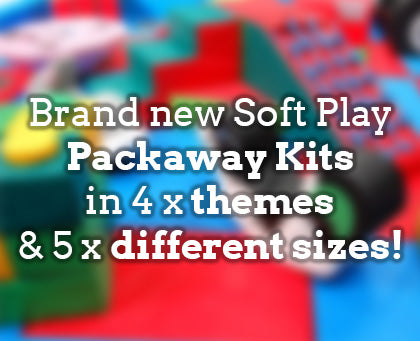 new soft play packaway kits by soft brick