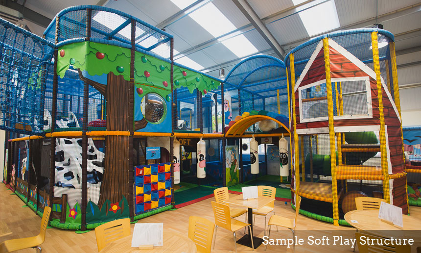 Soft Play Structures center