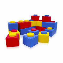 15 Piece Soft Play Brick Kit - The Soft Brick Company - 1