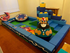 Second Hand Packaway Kit Barely used! - ideal for mobile soft play business, play centre or home use!