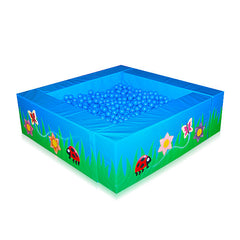 2m x 2m Ball Pool System (Ballpool) - The Soft Brick Company